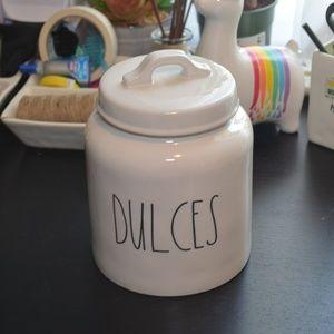 NWT Rae Dunn DULCES Canister